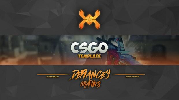 free csgo youtube banner