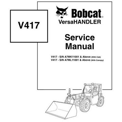 Bobcat B250 Loader Backhoe Workshop Repair Service Man