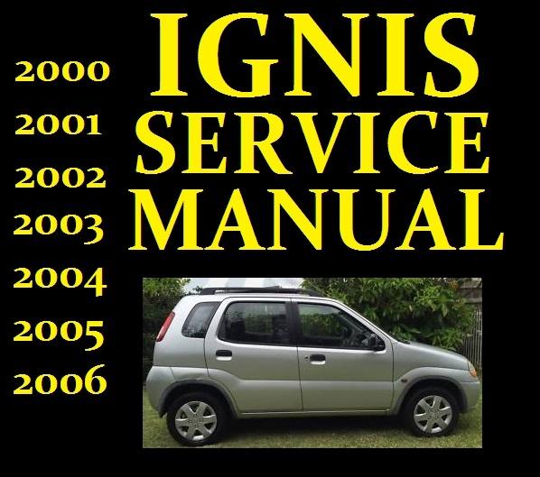 Free Download Wiring Diagrams Suzuki Ignis Service Workshop Repair Manual Wiring