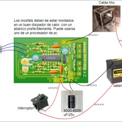Efie And Pwm Wiring Diagram For Hho Systems Rv Battery Disconnect Switch Para Celdas De Hidrogeno 12vdc Hid