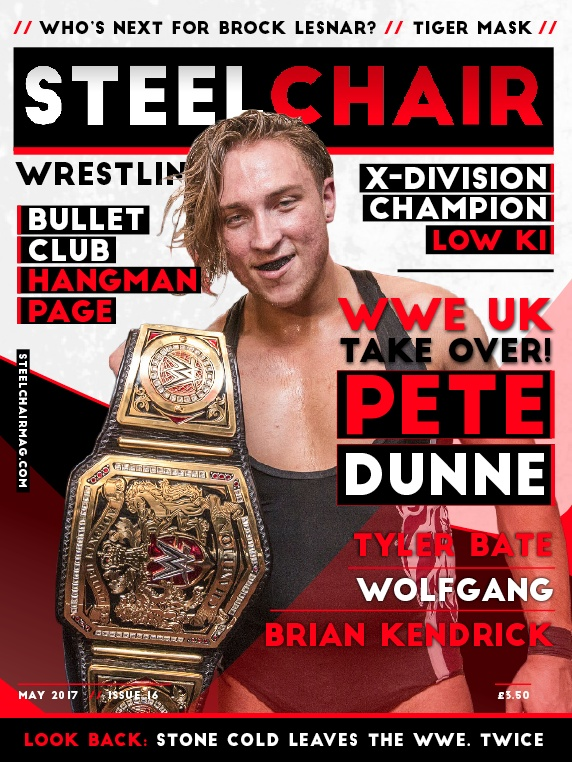 steel chair in wrestling mission recliner steelchair magazine 16 pete dunne tyler