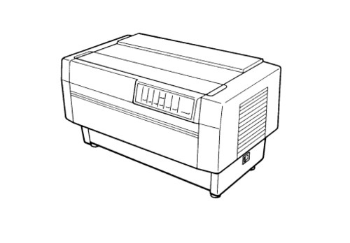 Epson DFX-5000+ Terminal Printer Service Repair Manual