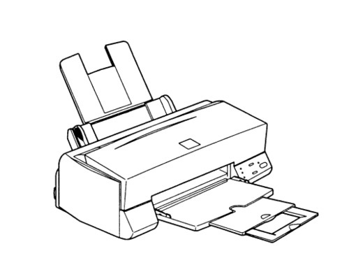 Epson Stylus Color 400 Color Ink-Jet Printer Service R