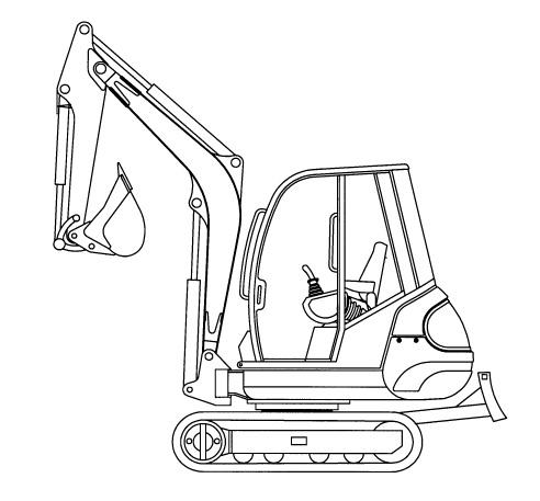 GEHL 272, 292 Mini-excavator Parts Manual