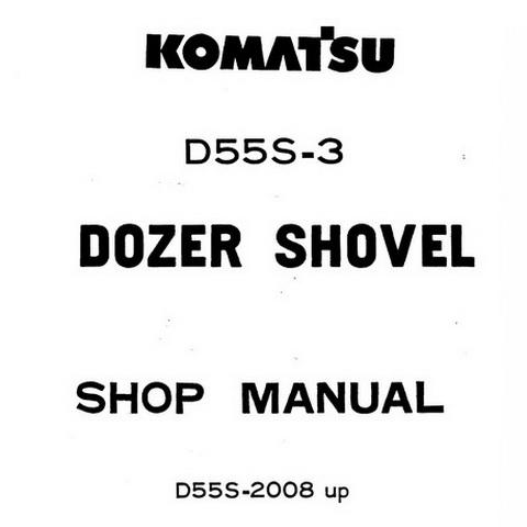 Komatsu PC400-7, PC400LC-7, PC450-7, PC450LC-7 Galeo E