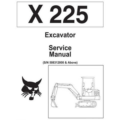 Bobcat Toolcat 5600 Utility Work Machine Workshop Repa