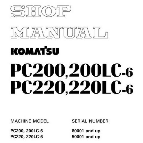 Komatsu GD555-3A, GD655-3A, GD675-3A Motor Grader Shop