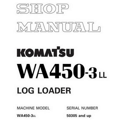 Komatsu 730E Dump Truck Shop Manual (A30310, A30312 an