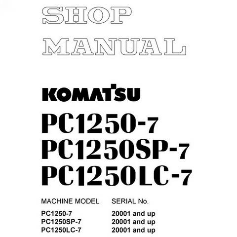 Komatsu WA420-3 avance Wheel Loader Operation & Mainte
