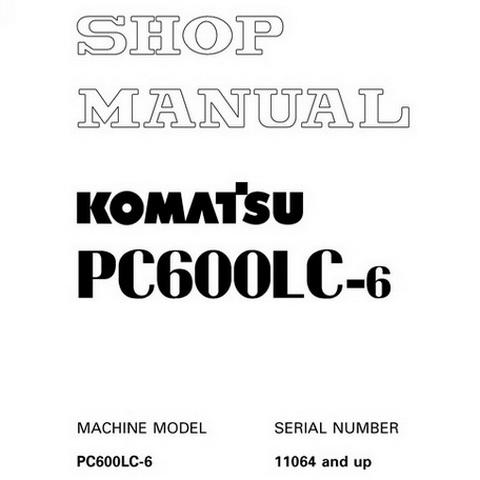 Komatsu PW200-7K, PW220-7K Excavator Operation & Maint
