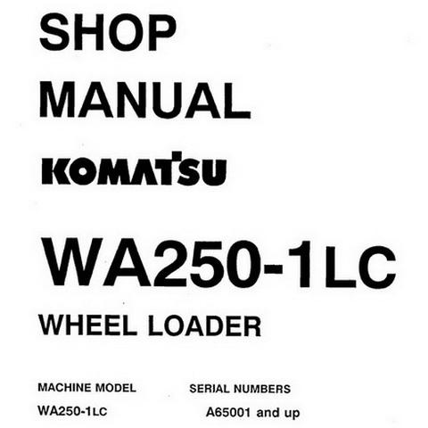 Komatsu PC60-7 Hydraulic Excavator Operation & Mainten