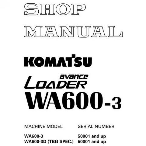 Komatsu WA70-5 Wheel Loader Operation and Maintenance