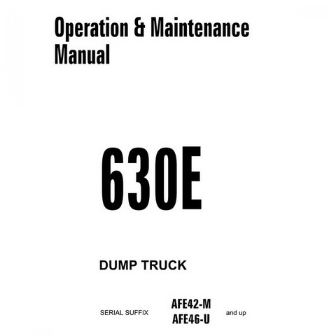 Komatsu 6D95L, S6D95L-1 Forklift Diesel Engine Shop Ma