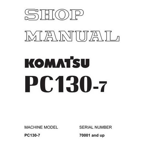 Komatsu PC100L-6, PC100L-6, PC120-6, PC120LC-6, PC130
