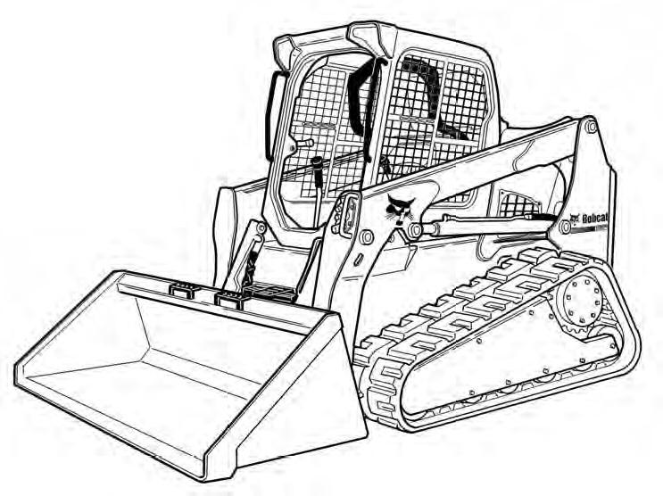 Bobcat T650 Skid-Steer Loader Service Manual Download(