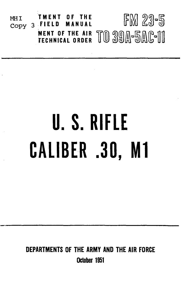 Korean War Field Manuals. Technical Manuals and Other - PaperlessArchives.com