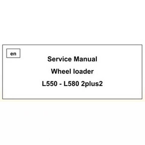 JCB 520, 525, 530, 540 Loadall Range Repair Service Ma