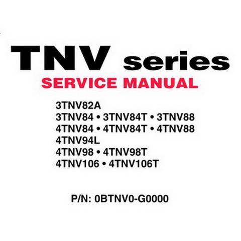 Yanmar JH Series Marine Diesel Engine Repair Service M