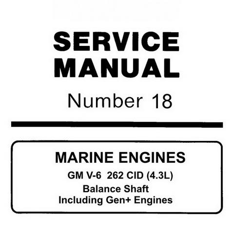 1996 43 Mercruiser Manual