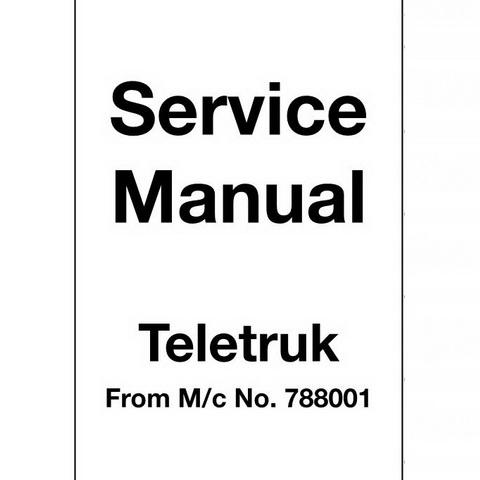 JCB JZ140 Tracked Excavator Repair Service Manual
