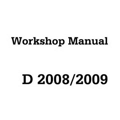 Deutz D2008 2009 Engine Service Repair Workshop Manual Pdf
