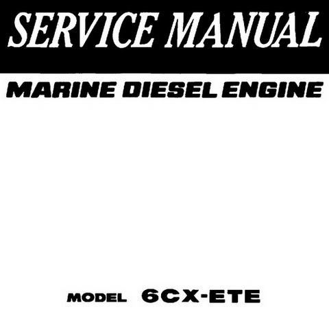 Yanmar LV Series Industrial Diesel Engine Repair Servi