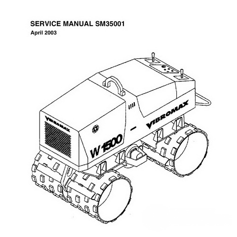 JCB TD7, TD10 Tracked Dumpster Repair Service Manual