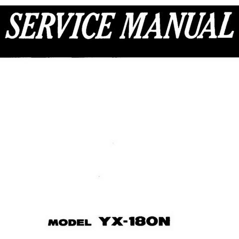 Yanmar TF(-M) Series Industrial Diesel Engine Repair S