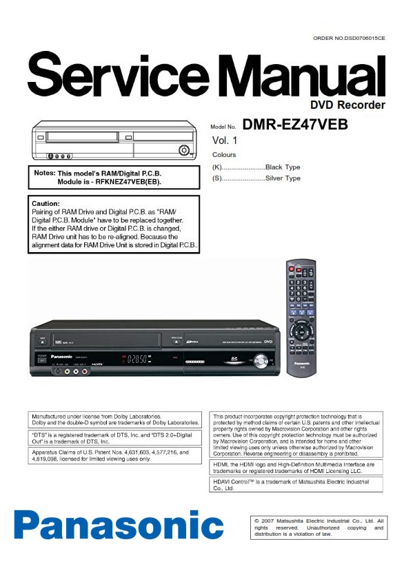 Marantz SR7013 AV Receiver Service Manual and Repair