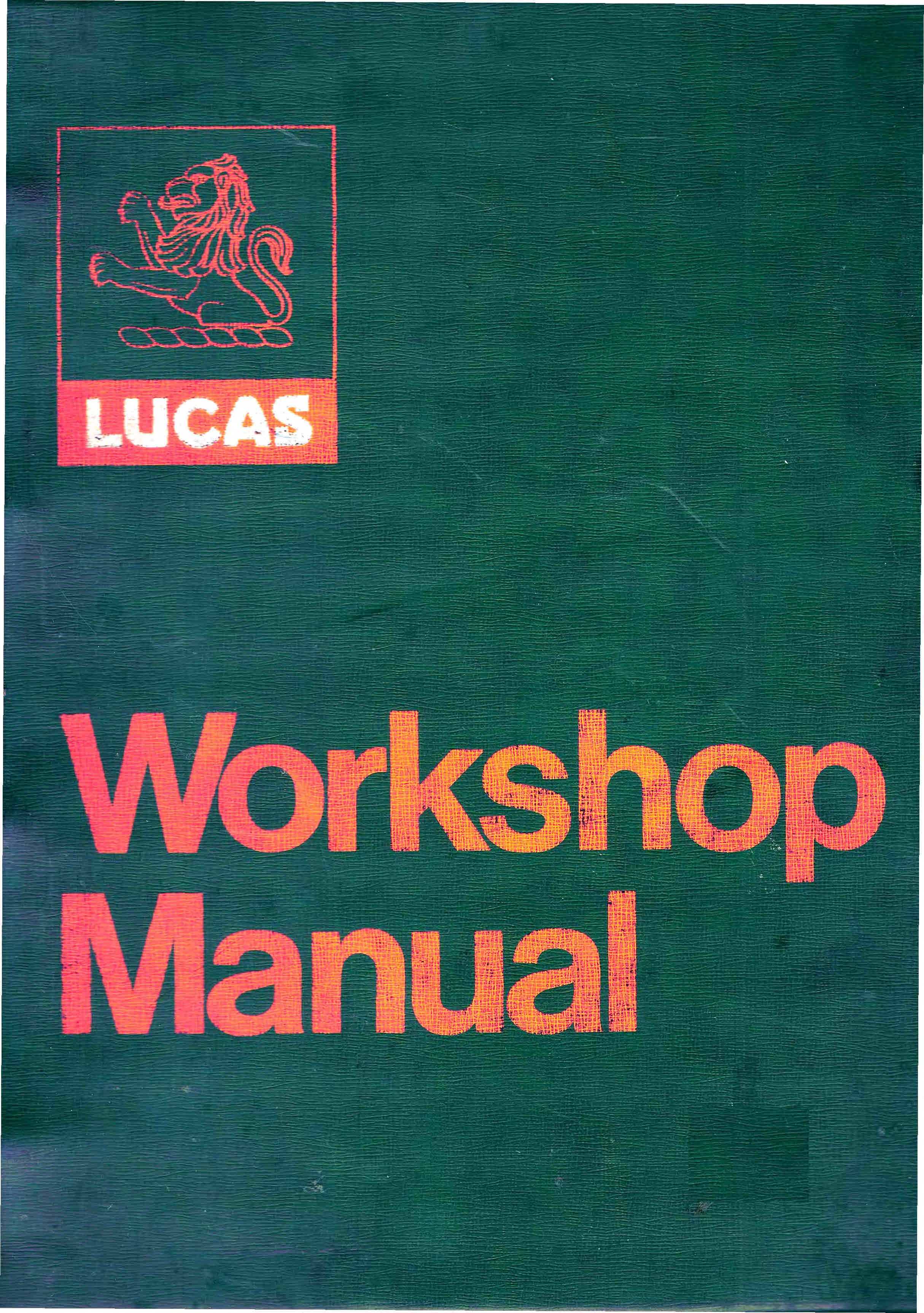 lucas dynastart wiring diagram 99 nissan altima bubble cars micro for mechanics themanualman motorcycle electrics trade manualsmechanics set all listed to go