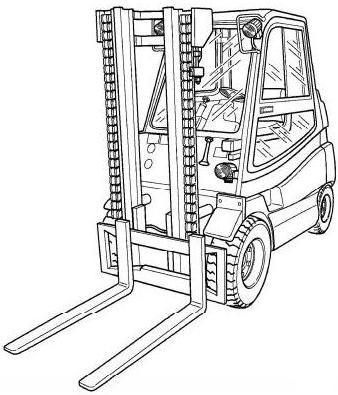 Linde H25, H30, H35 LPG and Diesel Forklift Truck 393