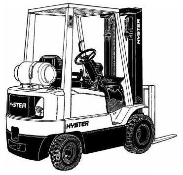 Hyster N30XMDR2, N45XMR2 Electric Forklift Truck F138