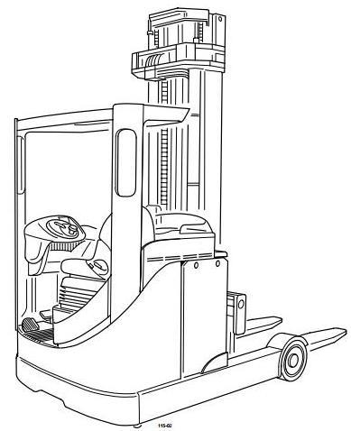 Still Electric Forklift Truck R50-10, R50-12, R50-15 S