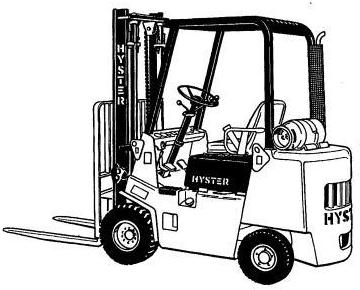 Hyster RS45-27, RS45-31, RS46-36, RS46-41L, RS46-41S