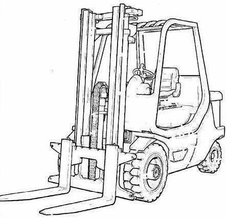 Linde H50D, H60D, H70D, H80D Diesel Forklift Truck 396