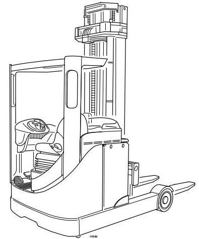 Still R70-20, R70-25, R70-30 Diesel Forklift Truck Ser