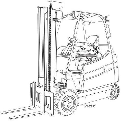 Still RX60-60, RX60-70, RX60-80 Electric Forklift Truc