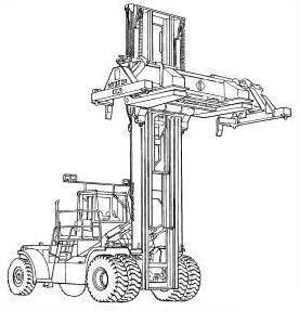 Still R70-40T, R70-45T, R70-50T LPG Forklift Truck Ser