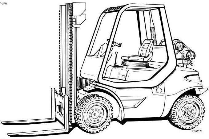 Still R70-20T, R70-25T, R70-30T LPG Forklift Truck Ser
