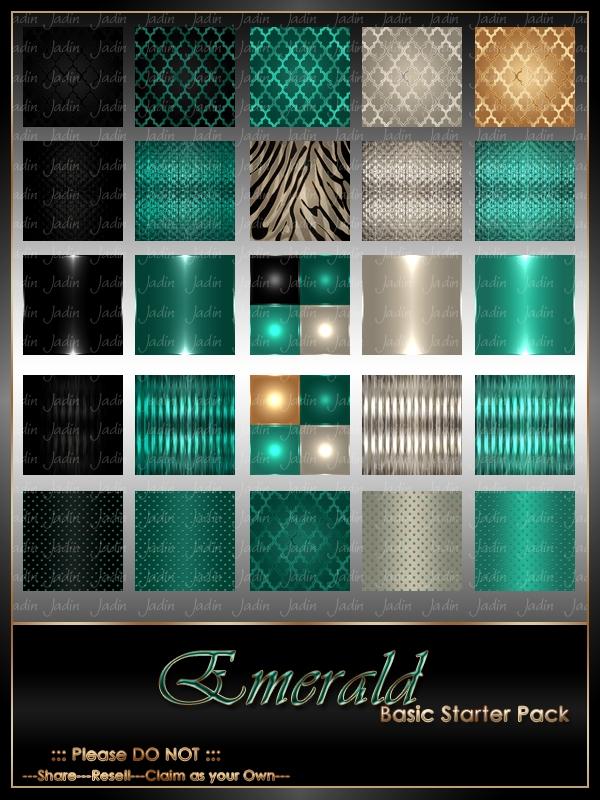 emerald basic texture pack