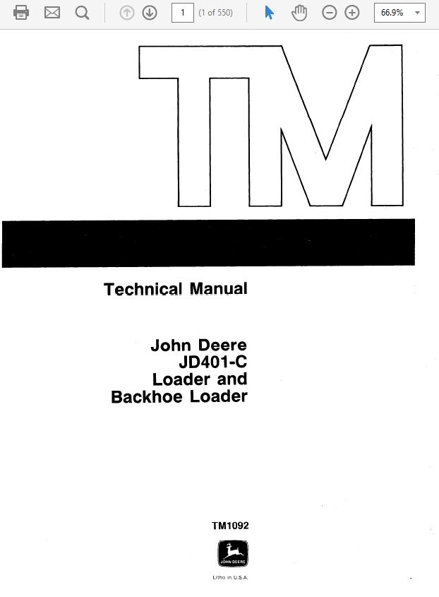 John Deere RX63, RX73, SX75, RX95, SX95 Mowers Technic