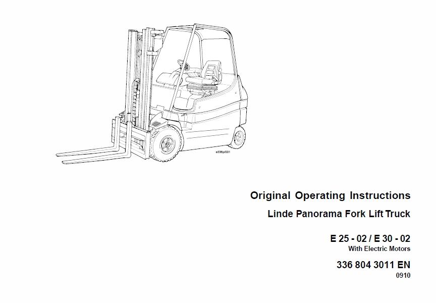 Still MX-X Generation 1,2 80v Order Picker Workshop Re