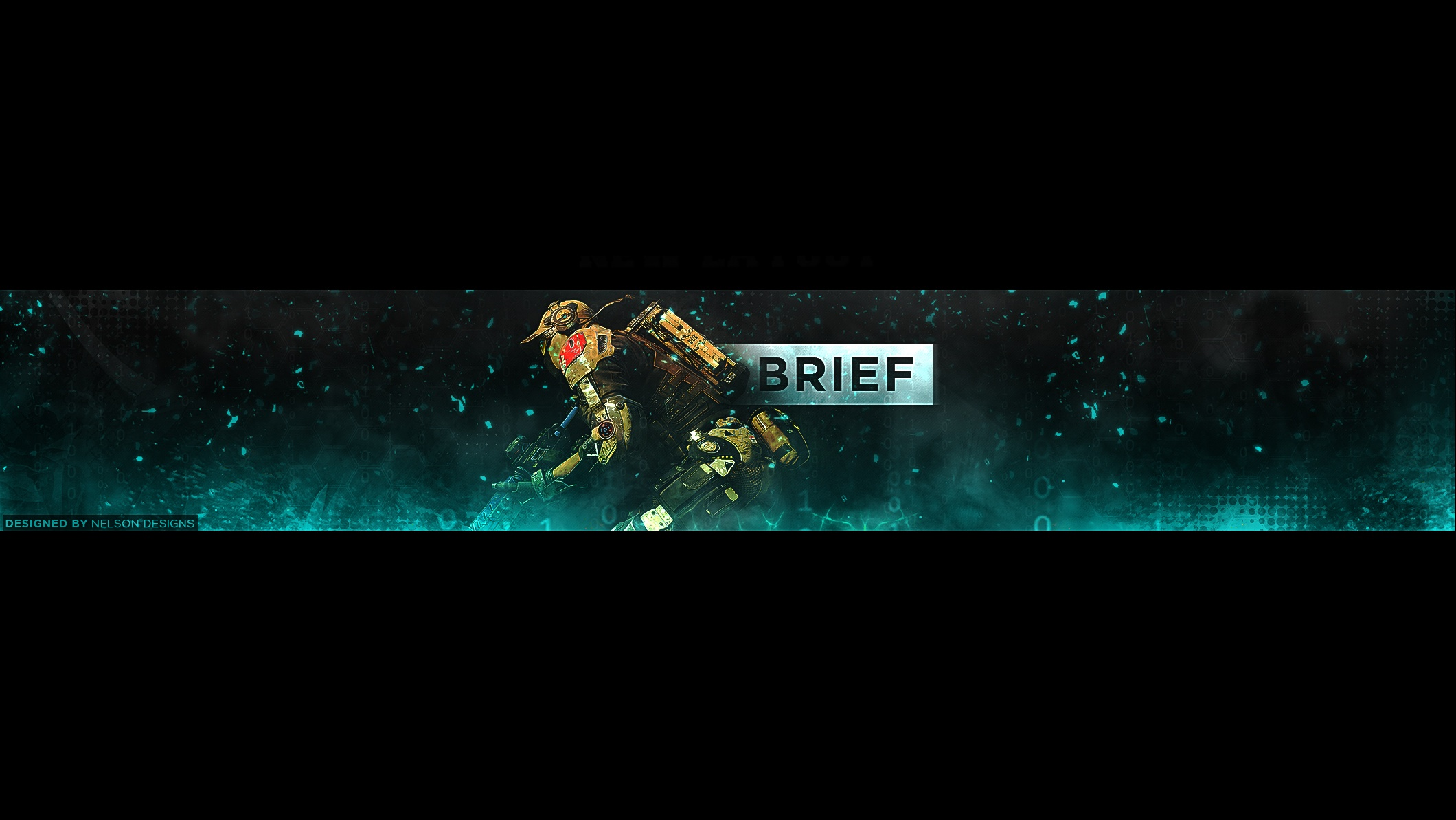 Brief Gaming YouTube Banner PSD  Tristan Nelson