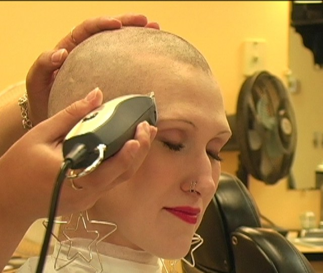 Amyee Danger S Long Hair To Bald Head Shave Video Download Vod
