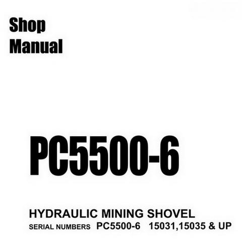 Komatsu PC360LC-10 Hydraulic Excavator Service Repair