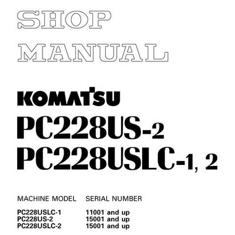 Komatsu PC800-8, PC800LC-8 Galeo Hydraulic Excavator S