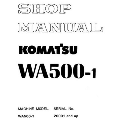 Komatsu PC130-7 Hydraulic Excavator Service Repair Sho