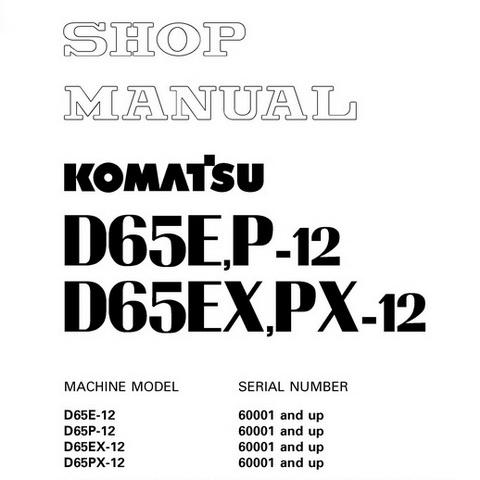 Komatsu PC300-6, PC300LC-6, PC350-6, PC350LC-6 Hydraul