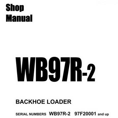 Komatsu WA270-7 Wheel Loader Service Repair Shop Manua