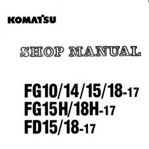 Komatsu 95 Series Diesel Engine Service Repair Shop Ma